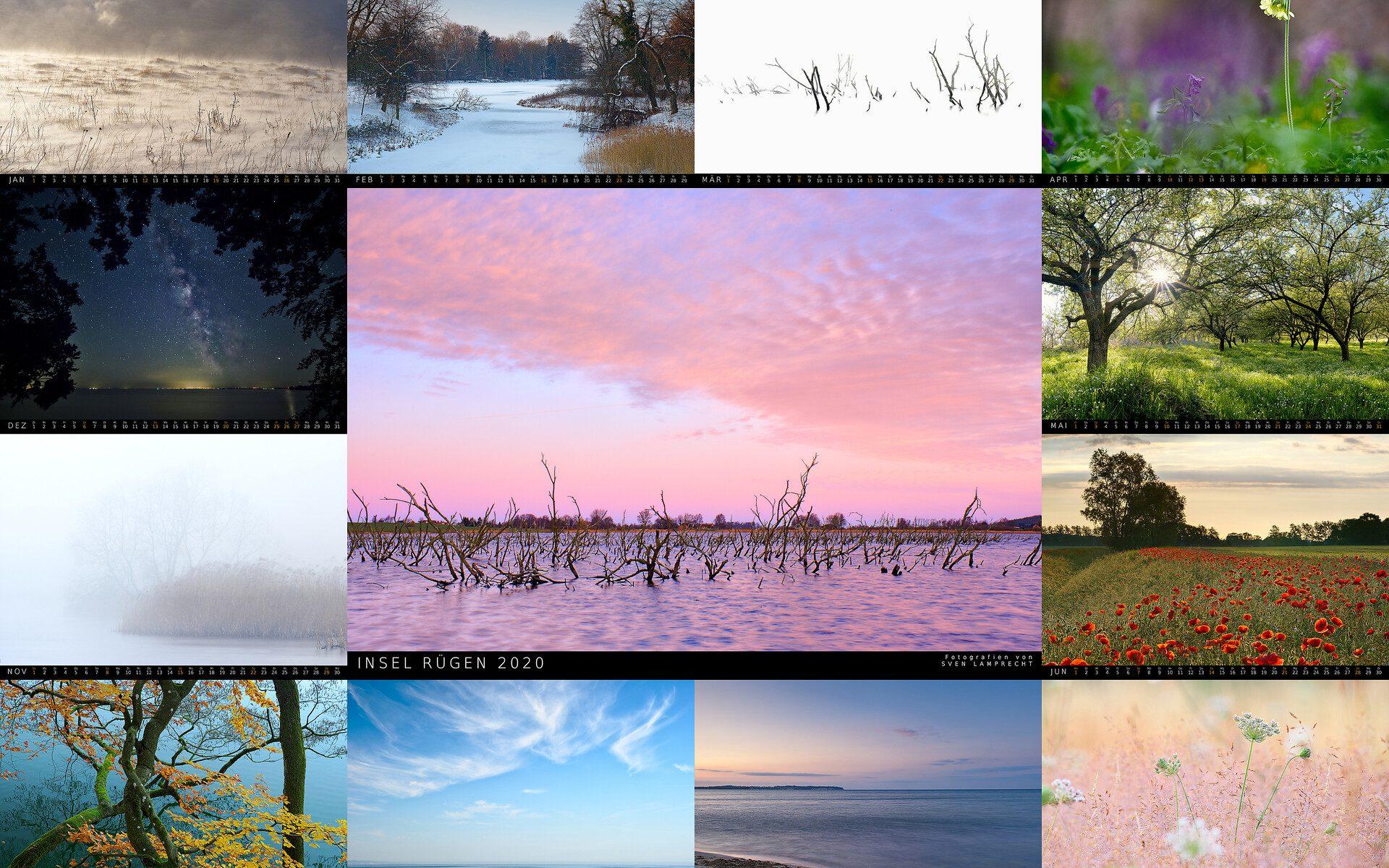 Kalender Rügen Landschaften